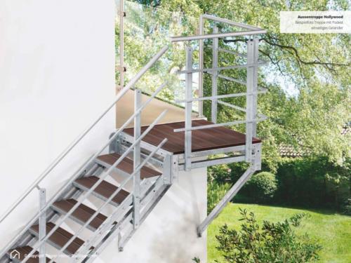 Berühmt Was kostet eine Außentreppe? | Alle Infos im Treppenblog KA37