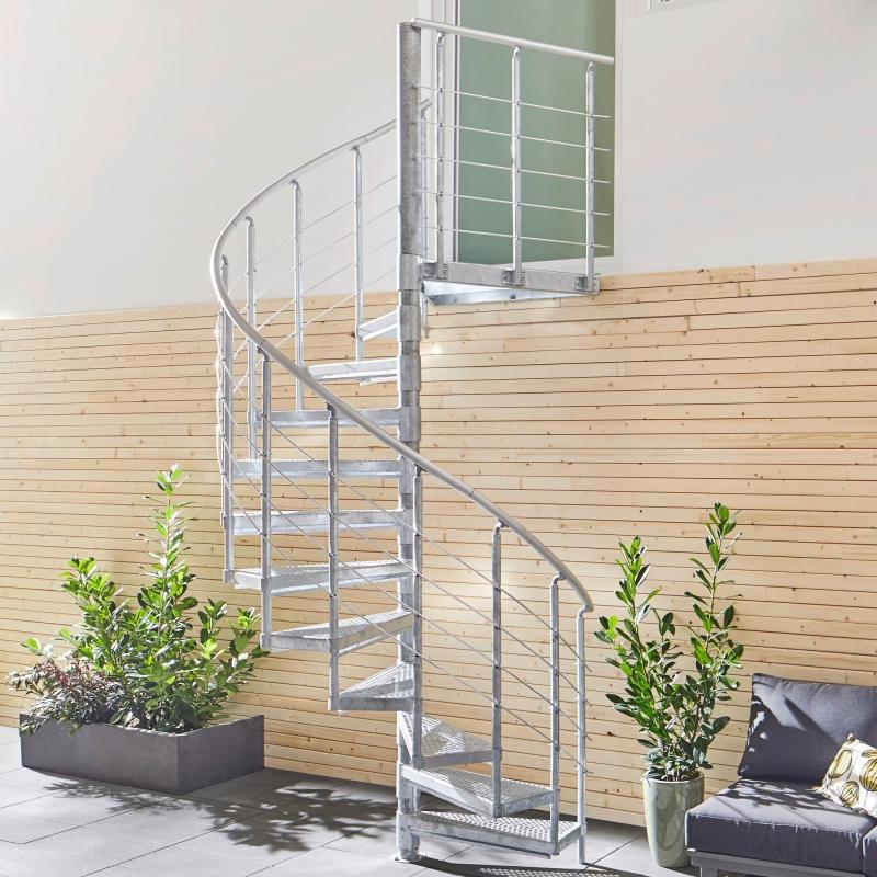 Außentreppe Intercon® K2 | Premium Edition