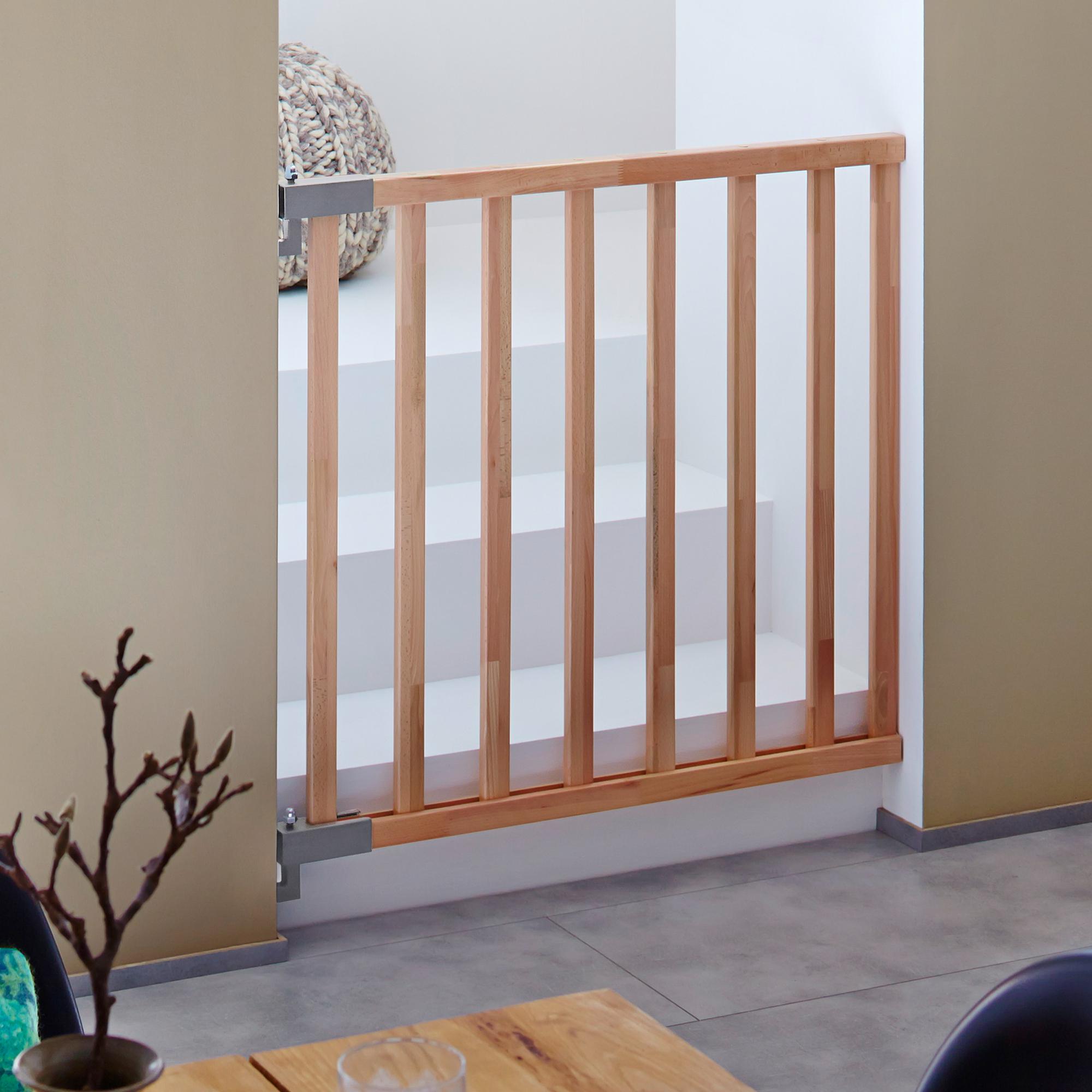 kinderschutzgitter jan ideal f r treppen t ren flure. Black Bedroom Furniture Sets. Home Design Ideas