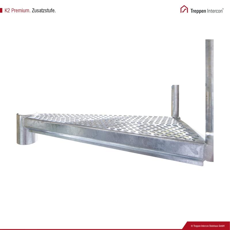 Zusatzstufe für Außentreppe Intercon® K2 Premium