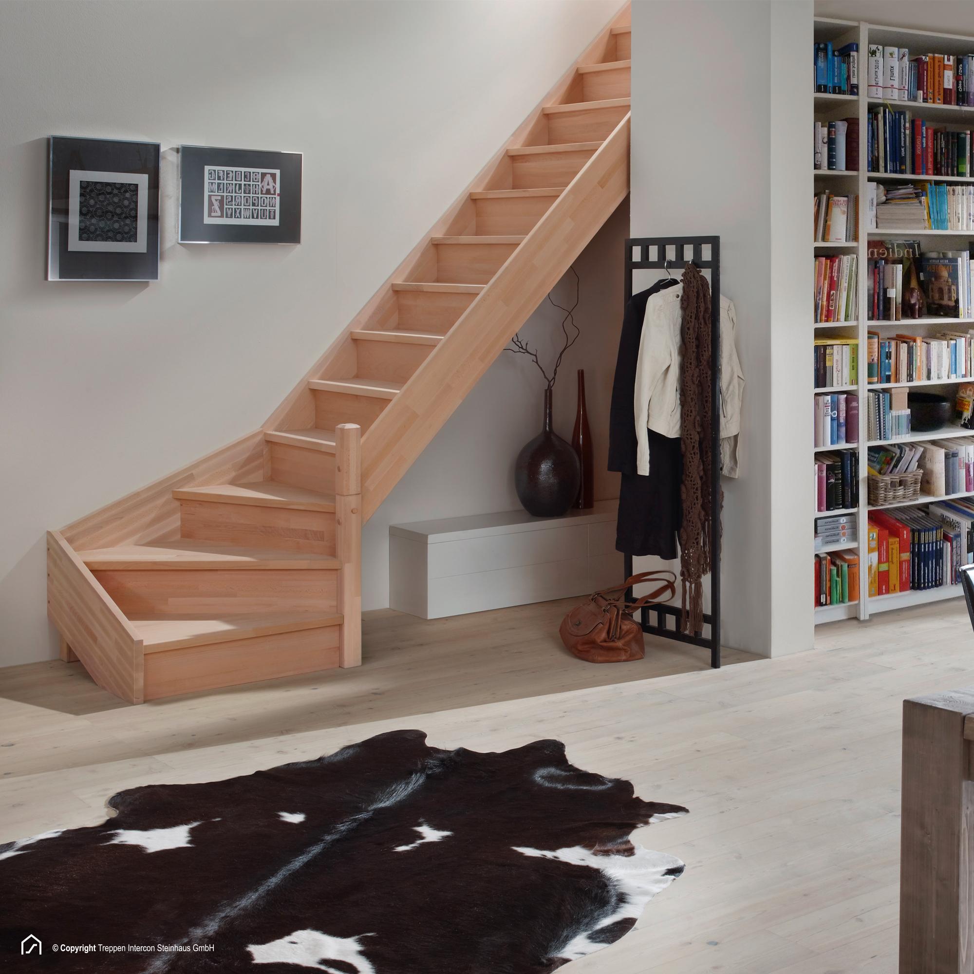 1 4 gewendelte holztreppe savoy hier ab lager kaufen. Black Bedroom Furniture Sets. Home Design Ideas