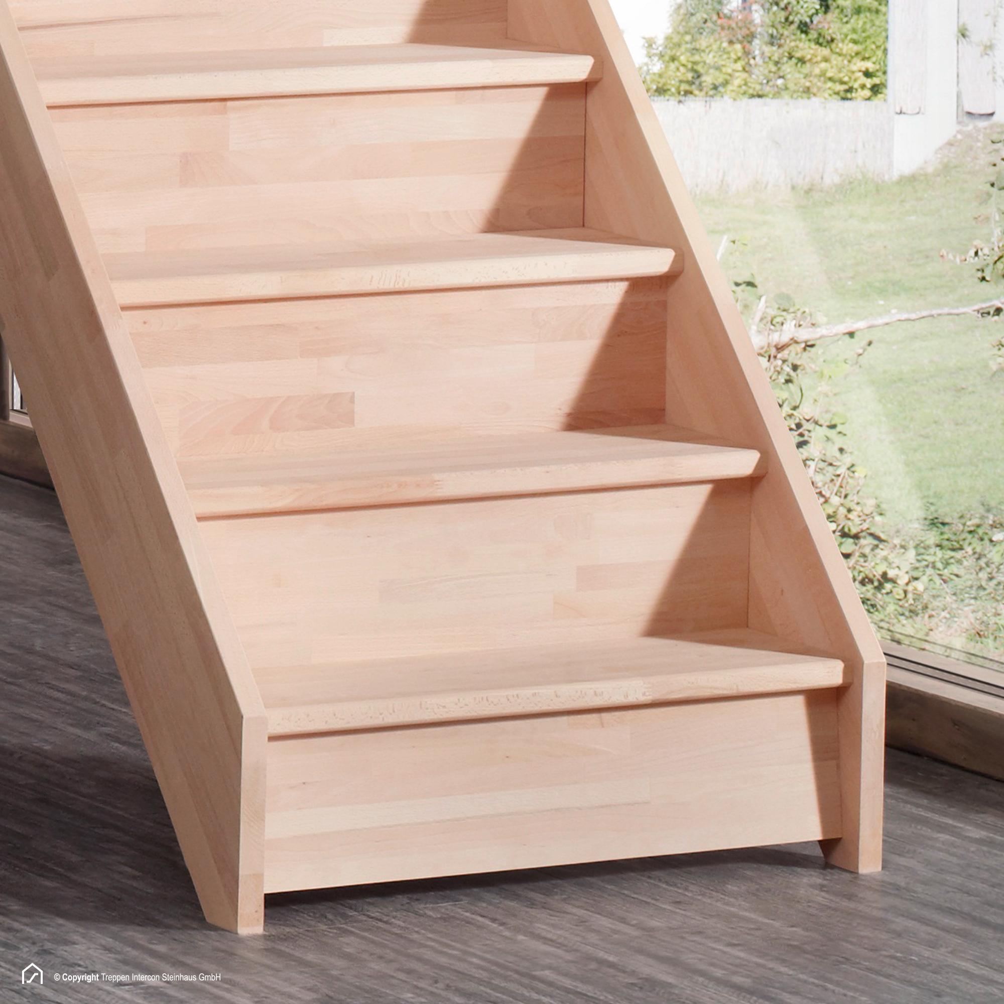 setzstufen holztreppe buche gerade mit gelander treppe entfernen
