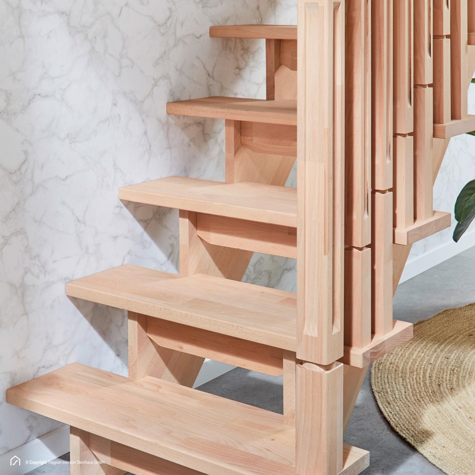 massivholztreppen und holztreppen treppen intercon. Black Bedroom Furniture Sets. Home Design Ideas