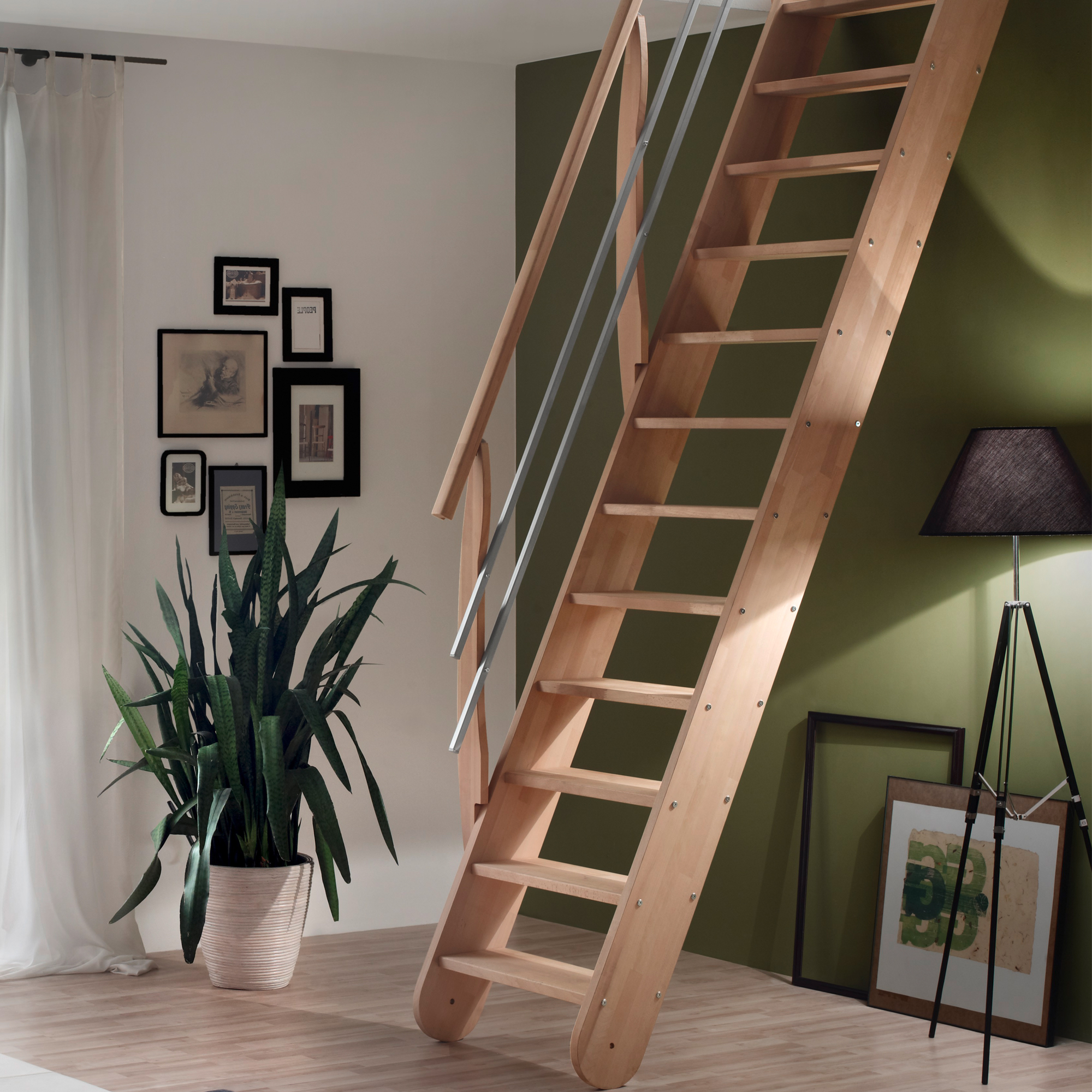 raumspartreppe living hier sofort ab lager treppen intercon. Black Bedroom Furniture Sets. Home Design Ideas